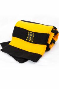 Rugby Stripe Knit Scarf