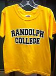Randolph College Gold Youth Tee