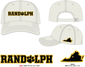 Randolph Adjustable Hat in Stone