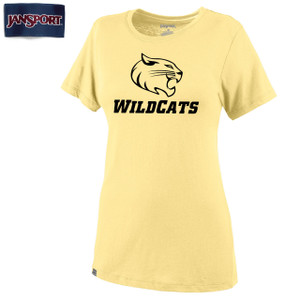 Jansport Molly Tee with Wildcat Mascot