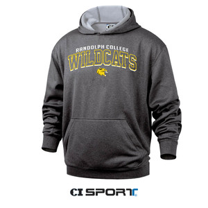 CI Sport Hooded Sweatshirt in Charcoal Heather