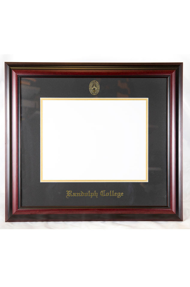 Randolph College Classic Diploma Frame Randolph Campus Store