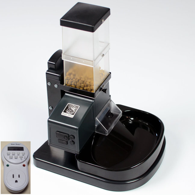 MOST POPULAR CSF-3 Super Feeder with DIGITAL TIMER, stand/bowl and all hardware