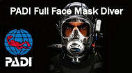 Full Face Mask and Underwater Communications Diver Certification