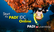 PADI IDC eLearning Code  - Online Instructor Course