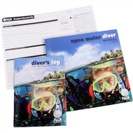PADI Open Water Computer Diving Crew-Pack w/Blue Logbook