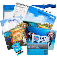 PADI Open Water Crew-Pack w/eRDPML and Blue Logbook