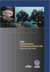PADI Rebreather and Advanced Rebreather Key Skills Video DVD