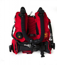 Poseidon Rebreather BCD - Red