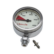 Hollis Pressure Gauge Module PSI - Metal w/o boot