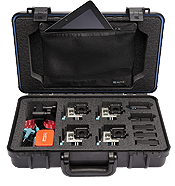 UK Pro POV60 GoPro Multi-Camera Hard Case - Black