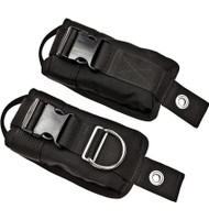 xDeep Medium weight pockets with plastic buckles and bolts (up to 10 lbs in pocket)
