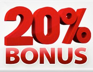 LIMITED TIME GIFT CARD DEAL: 20% FREE BONUS CASH:: Unlimited Quantity