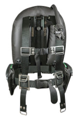 XS Scuba Highland Black Ox Commercial Harness