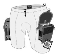 XS Scuba Neoprene Pocket Shorts