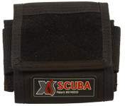 XS Scuba Single Weight Pocket w/Velcro Front