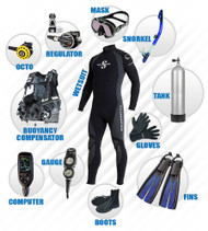FREE Advanced Open Water Certification with SCUBA Package SetUp
