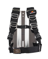 Dive Rite Transplate Harness / SS Travel Backplate