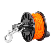 Dive Rite Reel w/Slide Lock - 250' Orange Line