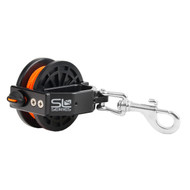 Dive Rite Reel w/Slide Lock - 50' Orange Line
