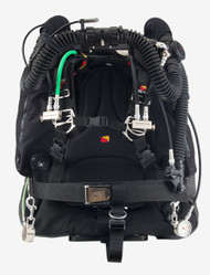 Dive Rite O2ptima Back Mount Closed Circuit Rebreather