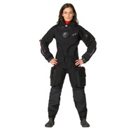 Waterproof D1 Hybrid Drysuit with Free PADI Drysuit Certification - Womens