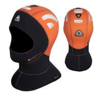 Waterproof 5/10mm Sandwich High Visibility Hood w/Bib