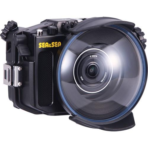 Sea & Sea MDX-a6000 Housing, ML Dome Port, Extension Ring, Focus Gear