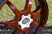 Rear 'Orange Inked' BST Carbon Wheel
