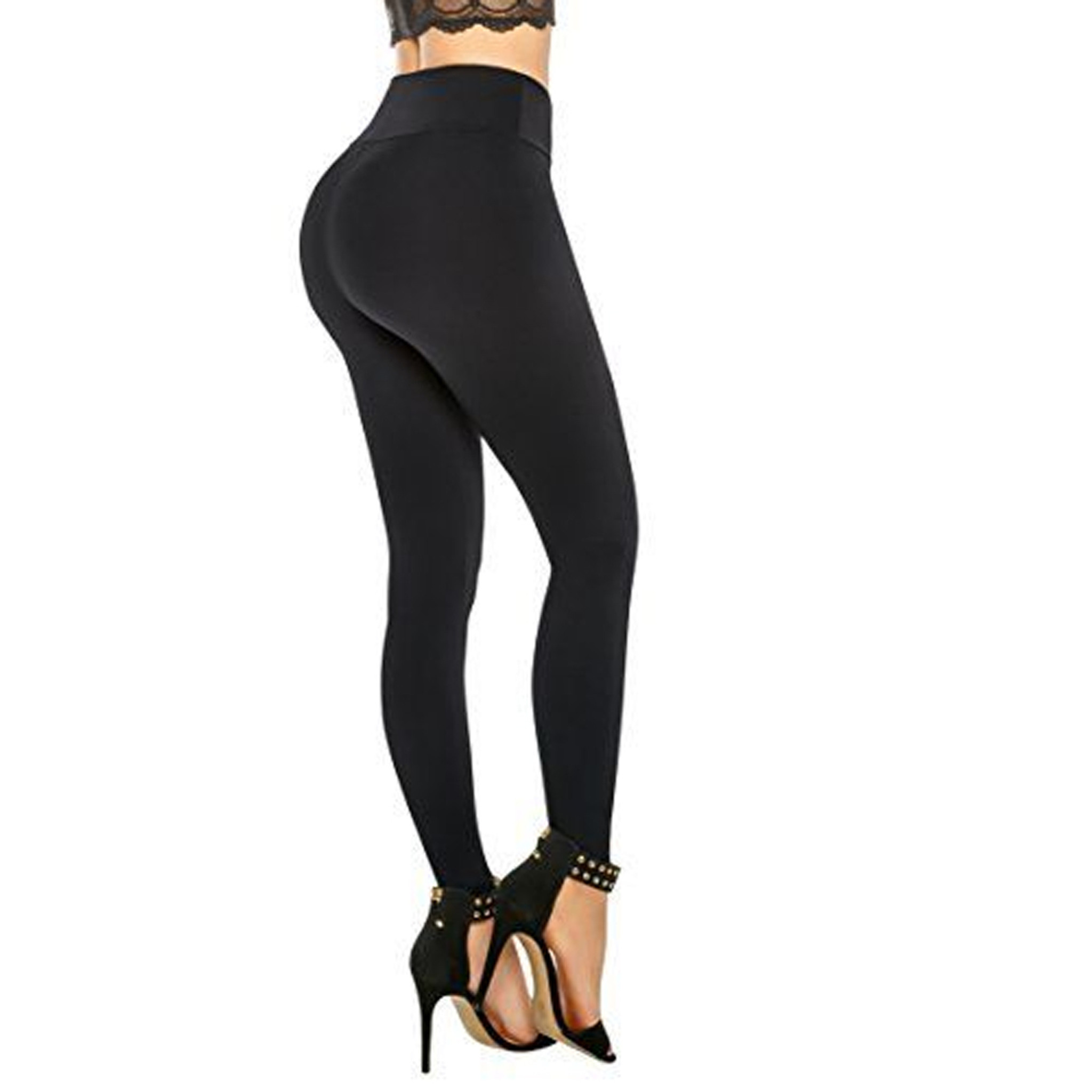 Women's Push Up Pants Butt Lifting Leggings | Pantalones Colombianos Levanta Cola  Nevada