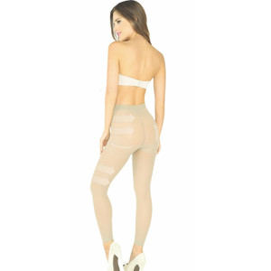 Booty Enhancer and Lifter Capri with Waist Control