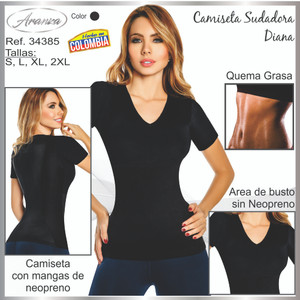 Neoprene Colombian Sweat T-shirt