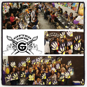Adult Parties:                               $30 per painter Minimum of 15 for a Private Party !  Our Events are between 2-3 hrs which gives you more than enough time for your guest to arrive, eat ,drink, mingle and of course create your very own Masterpiece while listening to some really good Music of your preference !!  Fundraisers                          For More Information feel free to give us a call !!