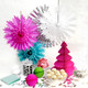 Modern and alternative Christmas decorations and accessories