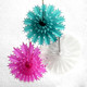Intricate teal snowflake Christmas decoration for modern and stylish decor in your home
