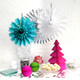 Modern and stylish snowflake decorations for Christmas parties and celebrations