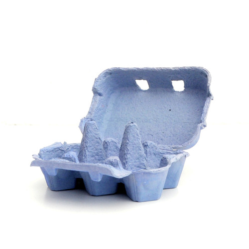 Blue Egg Boxes for cupcake displays, wedding dessert tables, fun easter egg hunt gift boxes and craft projects