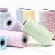Colourful Bakers Twine made of cotton for Gift Wrap, Favours and Craft Projects