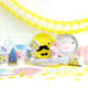 Fun noodoll paper party tableware for kids birthday parties, summer celebrations and other fun occasions.