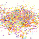 Rainbow mix tissue paper party confetti