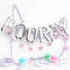 Metallic Silver Hooray Balloons for Birthday Parties and Weddings