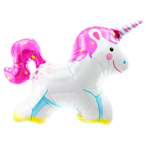 Unicorn Foil Helium Balloon for Childrens Birthday Parties