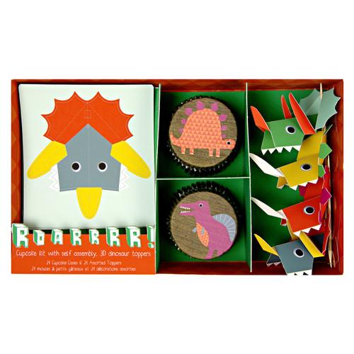 Dinosaur Party Cupcake Kit for Childrens Birthdays