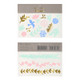 Floral temporary tattoos for children's birthday parties and hen dos