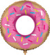 Doughnut Foil Balloon for Children's Birthday Parties and Hen Parties