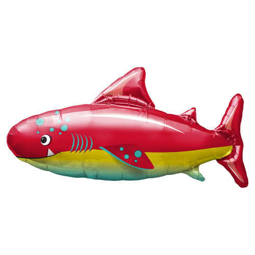 Happy Shark Foil Party Balloon