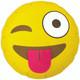 Emoji Winking Face Balloon