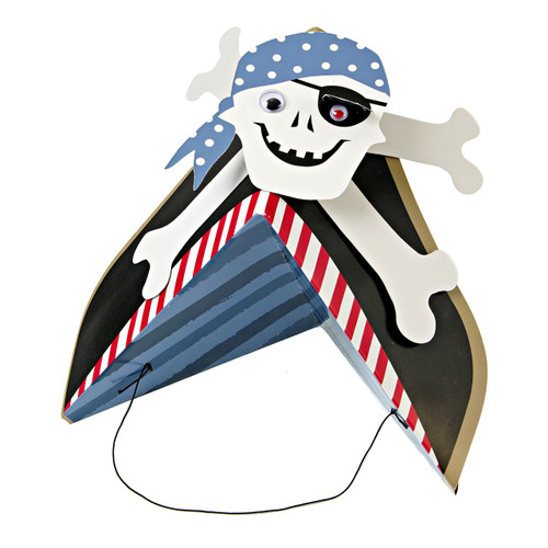 Pirate party hats for birthday parties and fancy dress