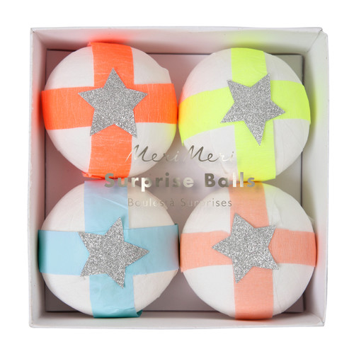 Fun Surprise Balls - Stylish alternatives for childrens birthday party goody bags