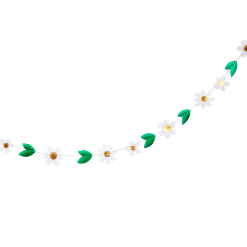 Daisy chain garland for weddings, birthday parties and baby showers